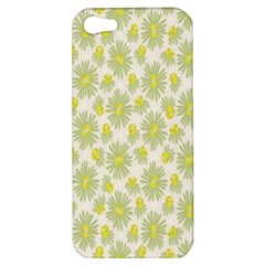 Another Supporting Tulip Flower Floral Yellow Gray Apple Iphone 5 Hardshell Case