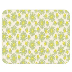 Another Supporting Tulip Flower Floral Yellow Gray Double Sided Flano Blanket (medium)  by Jojostore
