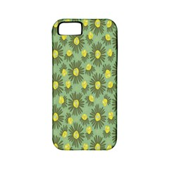 Another Supporting Tulip Flower Floral Yellow Gray Green Apple Iphone 5 Classic Hardshell Case (pc+silicone)
