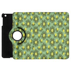 Another Supporting Tulip Flower Floral Yellow Gray Green Apple Ipad Mini Flip 360 Case by Jojostore