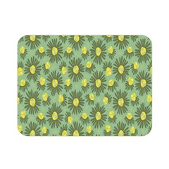 Another Supporting Tulip Flower Floral Yellow Gray Green Double Sided Flano Blanket (mini)  by Jojostore