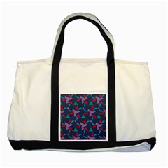 Areas Of Colour Square Relative Neutrality Two Tone Tote Bag by Jojostore