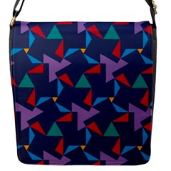 Areas Of Colour Square Relative Neutrality Flap Messenger Bag (s) by Jojostore