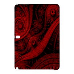 Batik Chevron Wave Free Red Samsung Galaxy Tab Pro 12 2 Hardshell Case