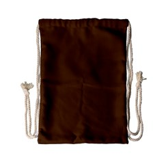 Brown Color Drawstring Bag (small) by Jojostore