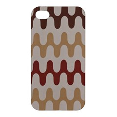 Bullard Line Fabric Chevron Wave Apple Iphone 4/4s Hardshell Case by Jojostore