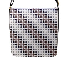 Circle Flap Messenger Bag (l)  by Jojostore