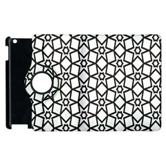 Coloring Squares Star Apple Ipad 3/4 Flip 360 Case by Jojostore