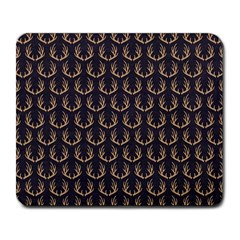 Deer Antlers Large Mousepads by Jojostore