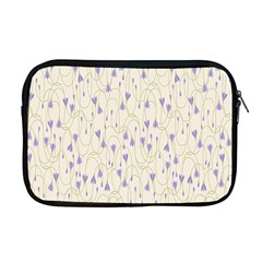 Flower Purple Apple Macbook Pro 17  Zipper Case by Jojostore