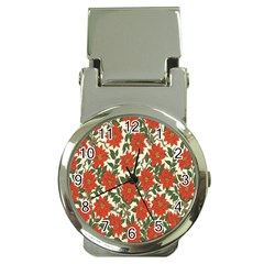 Flower Money Clip Watches