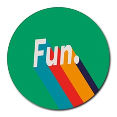 Fun Round Mousepads by Jojostore