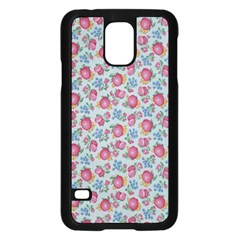 Fruit Flower Red Samsung Galaxy S5 Case (black) by Jojostore