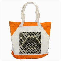 Geometric Home Decor Fabric Accent Tote Bag