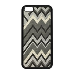 Geometric Home Decor Fabric Apple Iphone 5c Seamless Case (black) by Jojostore