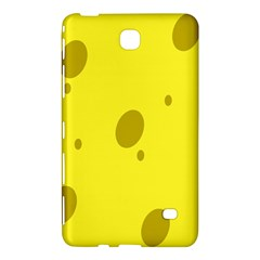 Hole Cheese Yellow Samsung Galaxy Tab 4 (7 ) Hardshell Case