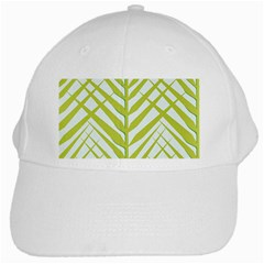 Leaf Coconut White Cap by Jojostore