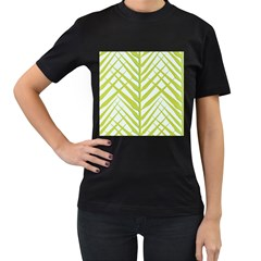 Leaf Coconut Women s T Shirt (black) by Jojostore