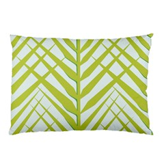 Leaf Coconut Pillow Case (two Sides)