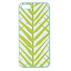 Leaf Coconut Apple Seamless Iphone 5 Case (color)