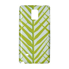 Leaf Coconut Samsung Galaxy Note 4 Hardshell Case by Jojostore