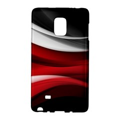 Lines Red Galaxy Note Edge by Jojostore