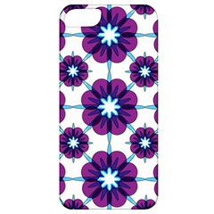 Link Scheme Analogous Purple Flower Apple Iphone 5 Classic Hardshell Case