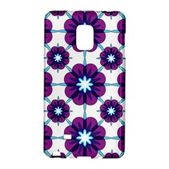 Link Scheme Analogous Purple Flower Galaxy Note Edge by Jojostore
