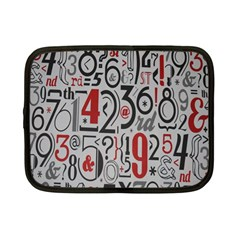Number Netbook Case (small)
