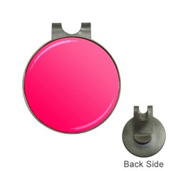 Pink Color Hat Clips With Golf Markers by Jojostore