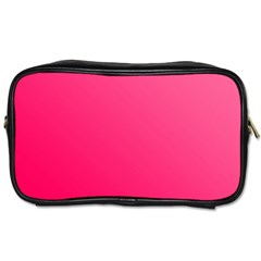 Pink Color Toiletries Bags 2-side