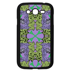 Paris Eiffel Tower Purple Green Samsung Galaxy Grand Duos I9082 Case (black) by Jojostore