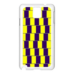 Preview Wallpaper Optical Illusion Stripes Lines Rectangle Samsung Galaxy Note 3 N9005 Case (white) by Jojostore