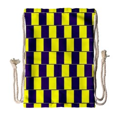 Preview Wallpaper Optical Illusion Stripes Lines Rectangle Drawstring Bag (large) by Jojostore