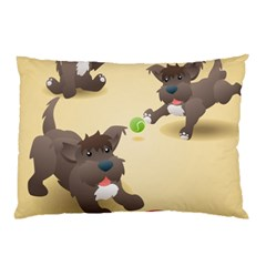 Puppy Dog Pillow Case (two Sides) by Jojostore