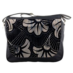 Printed Fan Fabric Messenger Bags
