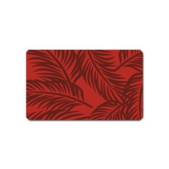 Red Palm Magnet (name Card) by Jojostore