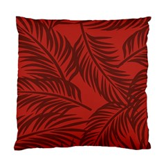 Red Palm Standard Cushion Case (one Side) by Jojostore