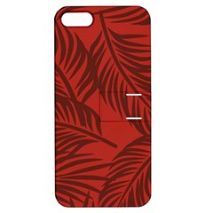 Red Palm Apple Iphone 5 Hardshell Case With Stand by Jojostore