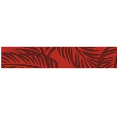 Red Palm Flano Scarf (large) by Jojostore