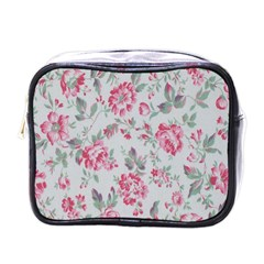 Rose Red Flower Mini Toiletries Bags