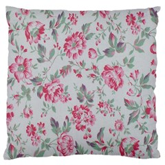 Rose Red Flower Large Cushion Case (one Side) by Jojostore