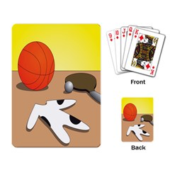 Sport Playing Card by Jojostore