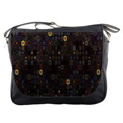 Preview Form Optical Illusion Rotation Messenger Bags