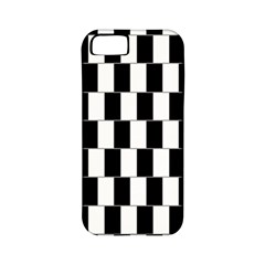 Wallpaper Line Black White Motion Optical Illusion Apple Iphone 5 Classic Hardshell Case (pc+silicone)