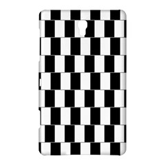 Wallpaper Line Black White Motion Optical Illusion Samsung Galaxy Tab S (8 4 ) Hardshell Case  by Jojostore