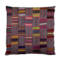 Strip Woven Cloth Color Standard Cushion Case (two Sides) by Jojostore