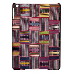 Strip Woven Cloth Color Ipad Air Hardshell Cases by Jojostore
