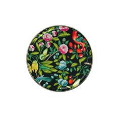 Tropical And Tropical Leaves Bird Hat Clip Ball Marker (4 Pack)