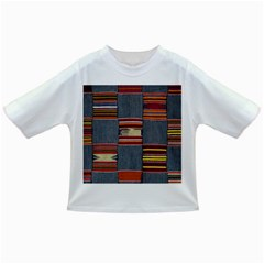 Strip Woven Cloth Infant/toddler T Shirts